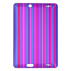 Blue And Pink Stripes Amazon Kindle Fire HD (2013) Hardshell Case