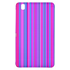 Blue And Pink Stripes Samsung Galaxy Tab Pro 8 4 Hardshell Case