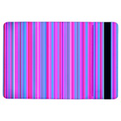 Blue And Pink Stripes Ipad Air 2 Flip