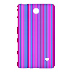 Blue And Pink Stripes Samsung Galaxy Tab 4 (8 ) Hardshell Case