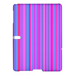 Blue And Pink Stripes Samsung Galaxy Tab S (10 5 ) Hardshell Case