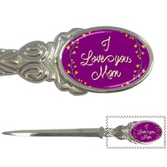 Happy Mothers Day Celebration I Love You Mom Letter Openers