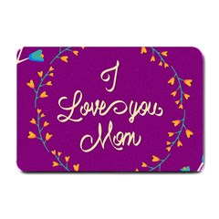 Happy Mothers Day Celebration I Love You Mom Small Doormat