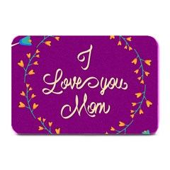 Happy Mothers Day Celebration I Love You Mom Plate Mats