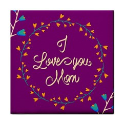 Happy Mothers Day Celebration I Love You Mom Face Towel