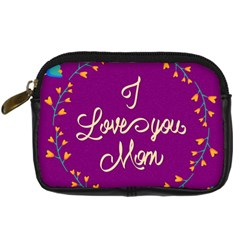 Happy Mothers Day Celebration I Love You Mom Digital Camera Cases