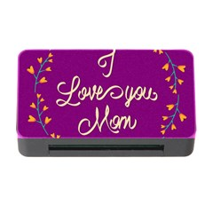 Happy Mothers Day Celebration I Love You Mom Memory Card Reader with CF