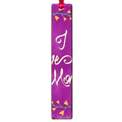 Happy Mothers Day Celebration I Love You Mom Large Book Marks