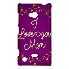 Happy Mothers Day Celebration I Love You Mom Nokia Lumia 720