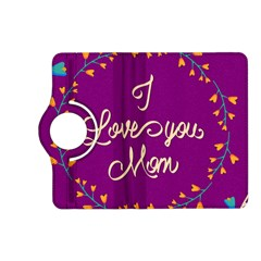 Happy Mothers Day Celebration I Love You Mom Kindle Fire HD (2013) Flip 360 Case