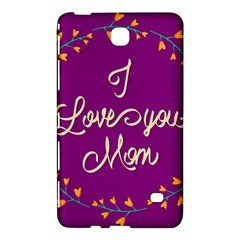 Happy Mothers Day Celebration I Love You Mom Samsung Galaxy Tab 4 (8 ) Hardshell Case
