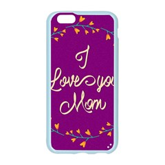 Happy Mothers Day Celebration I Love You Mom Apple Seamless iPhone 6/6S Case (Color)