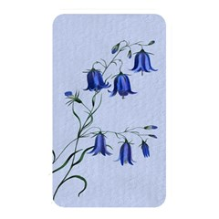 Floral Blue Bluebell Flowers Watercolor Painting Memory Card Reader