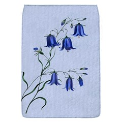 Floral Blue Bluebell Flowers Watercolor Painting Flap Covers (S)