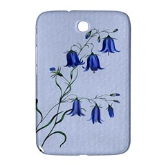 Floral Blue Bluebell Flowers Watercolor Painting Samsung Galaxy Note 8 0 N5100 Hardshell Case