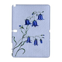 Floral Blue Bluebell Flowers Watercolor Painting Galaxy Note 1