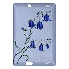 Floral Blue Bluebell Flowers Watercolor Painting Amazon Kindle Fire HD (2013) Hardshell Case
