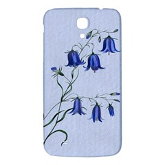 Floral Blue Bluebell Flowers Watercolor Painting Samsung Galaxy Mega I9200 Hardshell Back Case