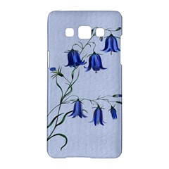 Floral Blue Bluebell Flowers Watercolor Painting Samsung Galaxy A5 Hardshell Case