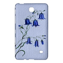 Floral Blue Bluebell Flowers Watercolor Painting Samsung Galaxy Tab 4 (8 ) Hardshell Case