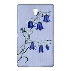 Floral Blue Bluebell Flowers Watercolor Painting Samsung Galaxy Tab S (8.4 ) Hardshell Case