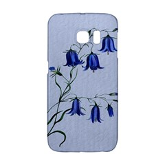 Floral Blue Bluebell Flowers Watercolor Painting Galaxy S6 Edge