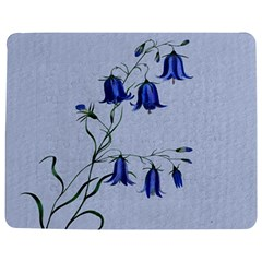 Floral Blue Bluebell Flowers Watercolor Painting Jigsaw Puzzle Photo Stand (Rectangular)