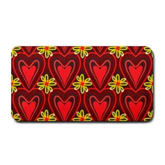 Digitally Created Seamless Love Heart Pattern Medium Bar Mats