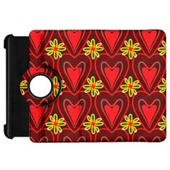 Digitally Created Seamless Love Heart Pattern Kindle Fire Hd 7