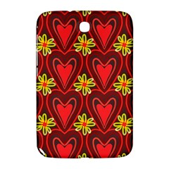 Digitally Created Seamless Love Heart Pattern Samsung Galaxy Note 8.0 N5100 Hardshell Case