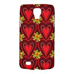 Digitally Created Seamless Love Heart Pattern Galaxy S4 Active