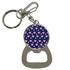 Watercolour Flower Pattern Button Necklaces