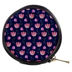 Watercolour Flower Pattern Mini Makeup Bags