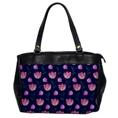 Watercolour Flower Pattern Office Handbags