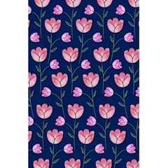 Watercolour Flower Pattern 5 5  X 8 5  Notebooks