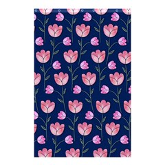 Watercolour Flower Pattern Shower Curtain 48  x 72  (Small)