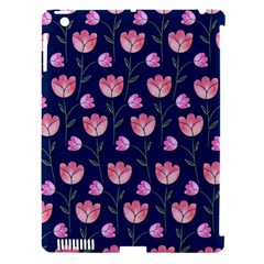 Watercolour Flower Pattern Apple Ipad 3/4 Hardshell Case (compatible With Smart Cover)