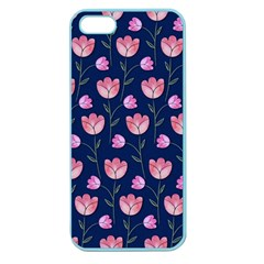 Watercolour Flower Pattern Apple Seamless iPhone 5 Case (Color)