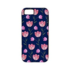 Watercolour Flower Pattern Apple Iphone 5 Classic Hardshell Case (pc+silicone)