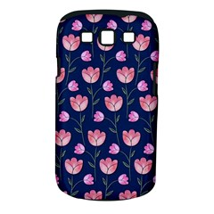 Watercolour Flower Pattern Samsung Galaxy S Iii Classic Hardshell Case (pc+silicone)