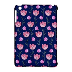 Watercolour Flower Pattern Apple iPad Mini Hardshell Case (Compatible with Smart Cover)