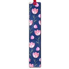 Watercolour Flower Pattern Large Book Marks