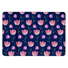 Watercolour Flower Pattern Samsung Galaxy Tab 8.9  P7300 Flip Case