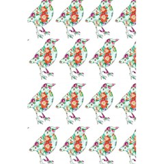 Floral Birds Wallpaper Pattern On White Background 5.5  x 8.5  Notebooks