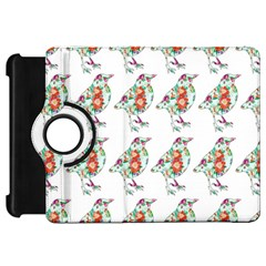 Floral Birds Wallpaper Pattern On White Background Kindle Fire Hd 7