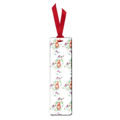 Floral Birds Wallpaper Pattern On White Background Small Book Marks