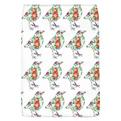 Floral Birds Wallpaper Pattern On White Background Flap Covers (l)