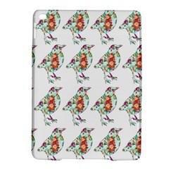 Floral Birds Wallpaper Pattern On White Background iPad Air 2 Hardshell Cases