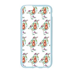 Floral Birds Wallpaper Pattern On White Background Apple Seamless iPhone 6/6S Case (Color)