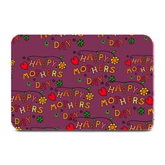 Happy Mothers Day Text Tiling Pattern Plate Mats